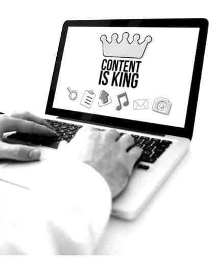 Erstellung von Website Content